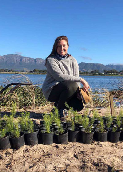 Community and Partnerships: Restoration planting at Princess Vlei