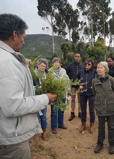 Southern Overberg Branch: Mandela Day at Flower Valley