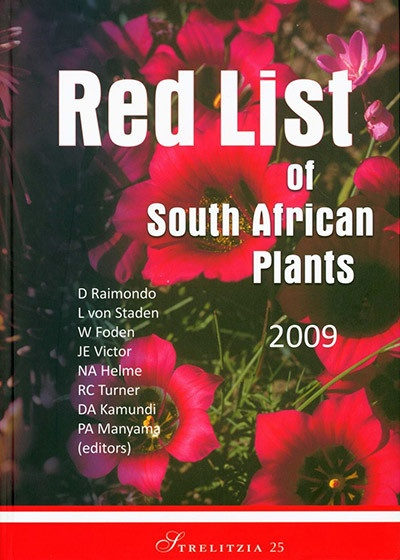 Resolve to be a Red List plant protector